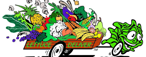 Lettuce Deliver Logo Large Col