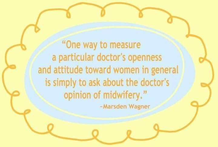 Sorry dear – no midwife for you!  Our practice does not support your right to choose your birth care.